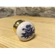 Sinivalge kapinupp 30 mm