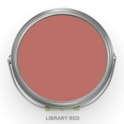 LIBRARY RED EGGSHELL