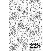 Suur mustrirull 228