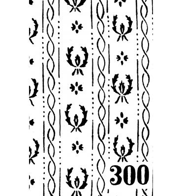 Suur mustrirull 300